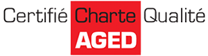 Certified quality charter of AGED - Association of leading companies in the removals sector